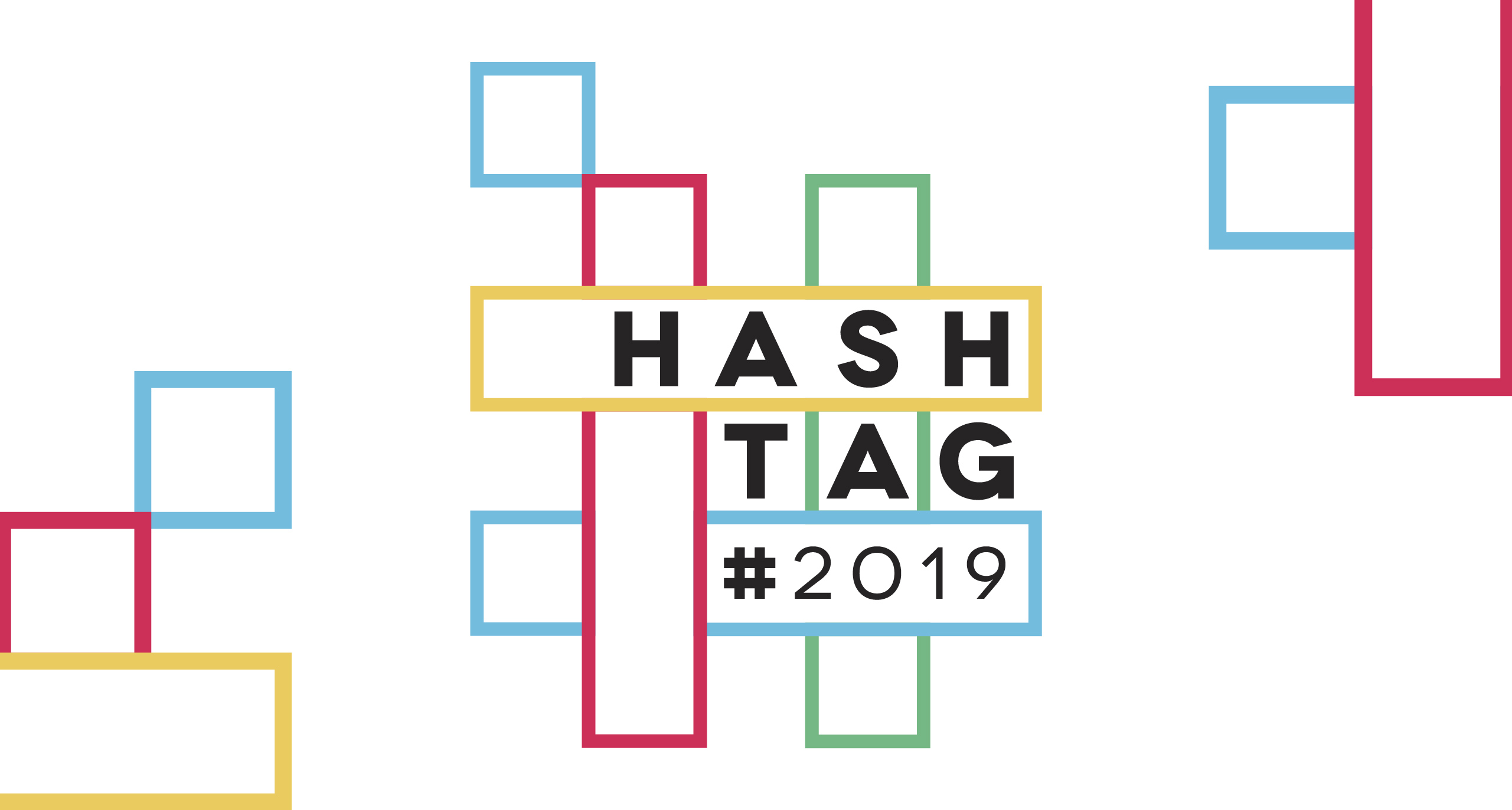 Hashtag Design 2019 - Blisq Creative